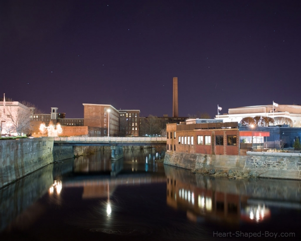 Merrimack at Night