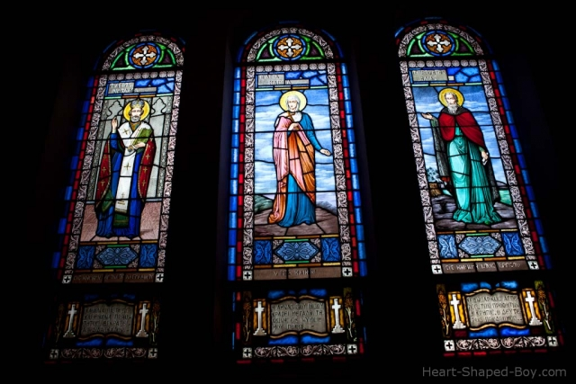 St Spyridon Windows