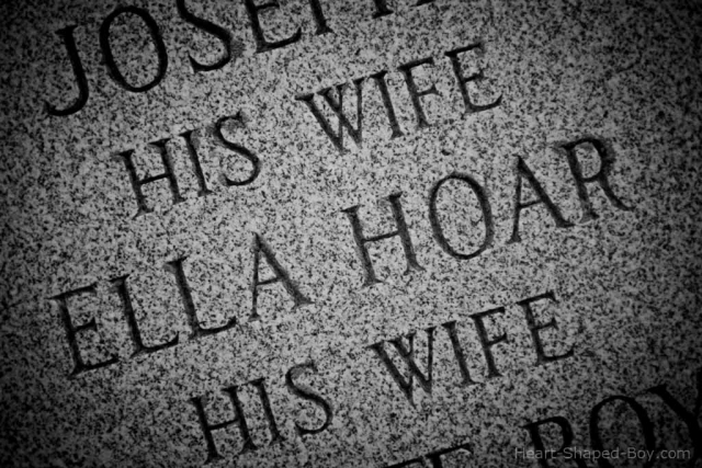 His Wife Was a Hoar