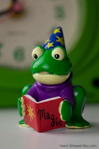 Student Wizard Frog