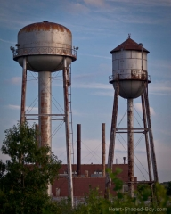 Wyman-Gordon Water Towers